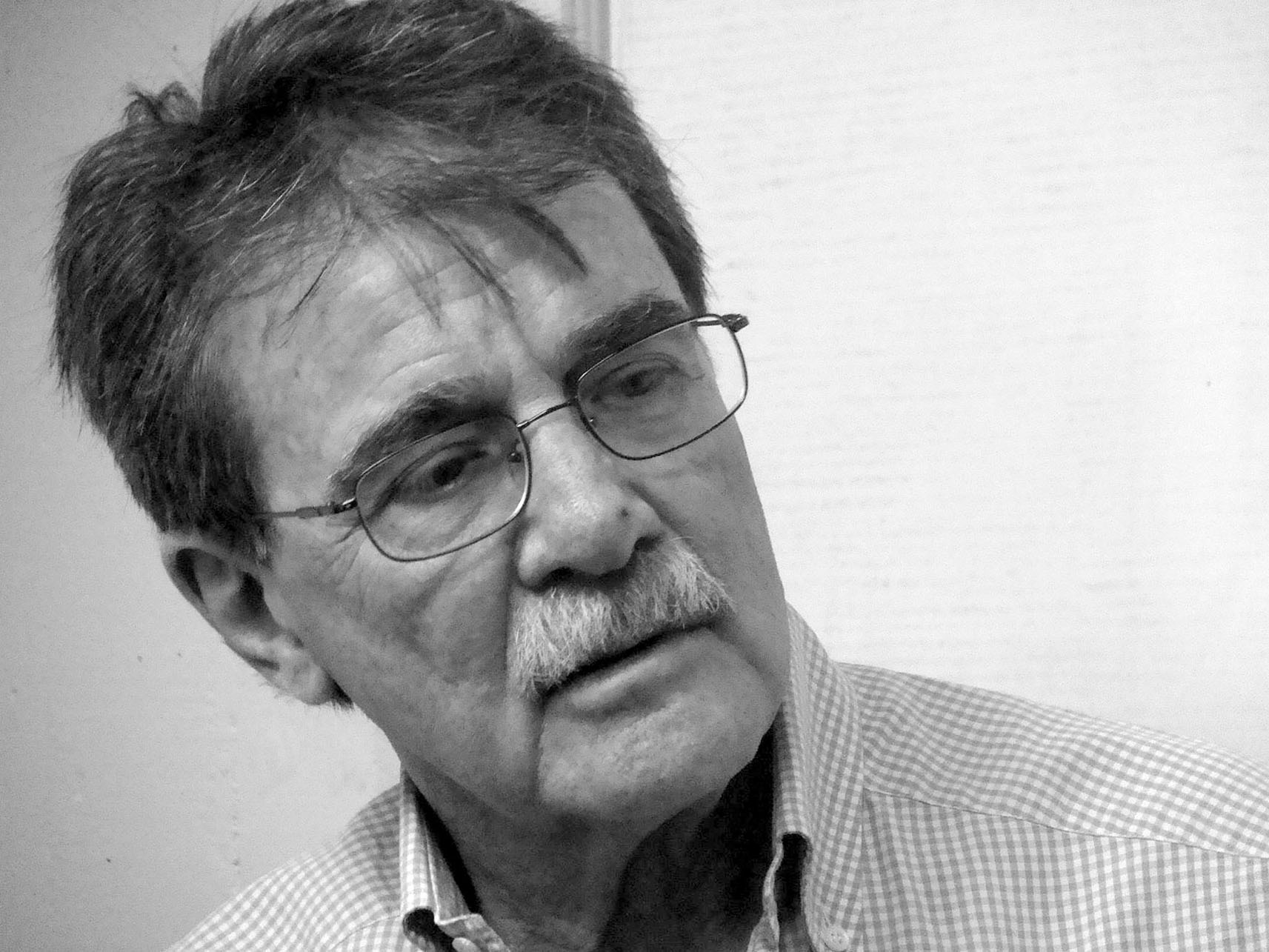 A portrait of Teodoro Petkoff in 2010. (Photo by Luís Carlos Díaz.)