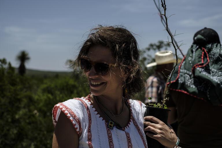 Portrait of Diana Negrín