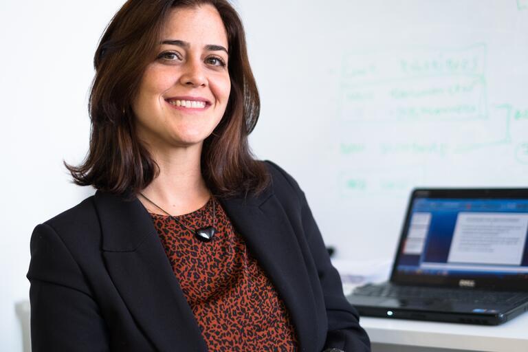 Portrait of Carolina Botelho