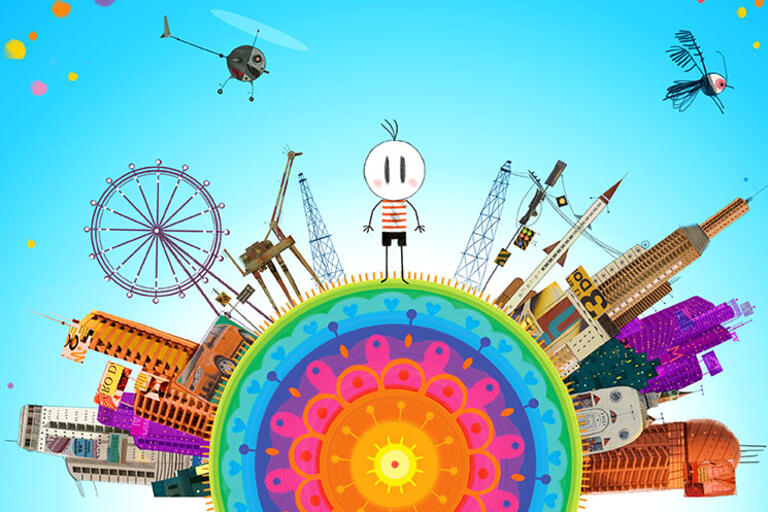 """Illustration for the film """"Boy and the World"""""""
