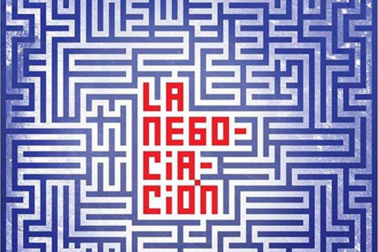 Film's poster that reads La Negociación