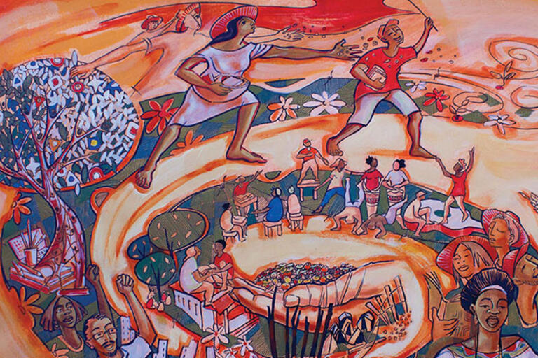 Image from the cover of Occupying Schools, Occupying Land