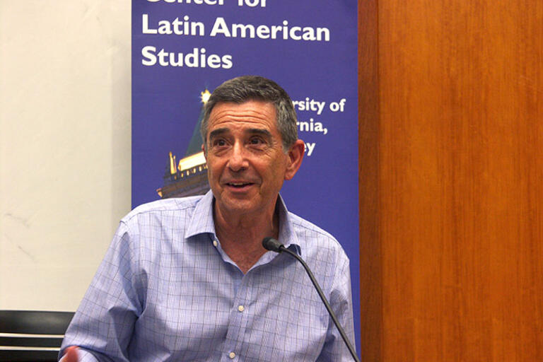 Professor Raymond Telles close up
