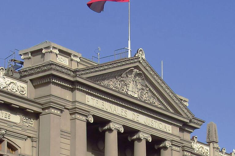 The Supreme Court building in Santiago, Chile. (Photo by Felipe Restrepo Acosta.)