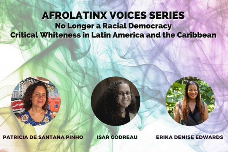 AfroLatinx Voices Series flyer