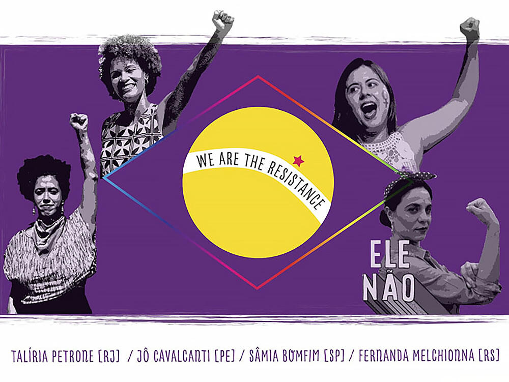 Image promoting The Feminist Resistance to the Radical Right in Brazil, January 2019.