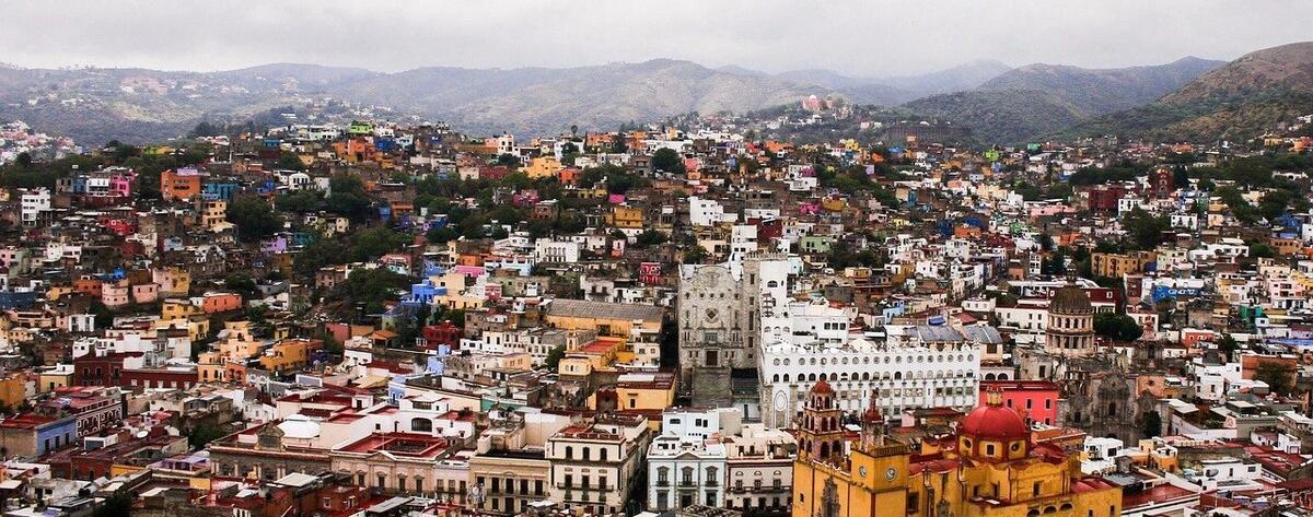 Cityscape of Guanajuato