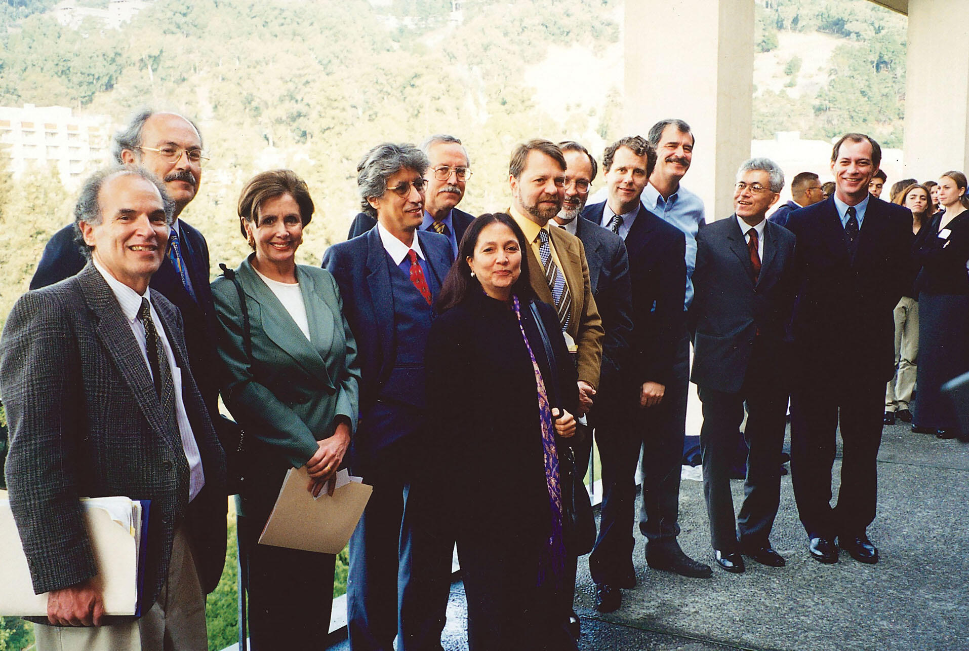 """""""Alternatives for the Americas"""" participants, 1998. (Photo by CLAS staff.)"""