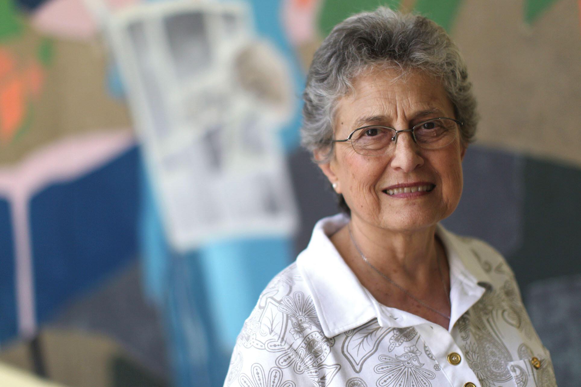 A portrait of Ivone Gebara in 2011. (Photo by Jorge A. Ramirez Portela/AP Images.)