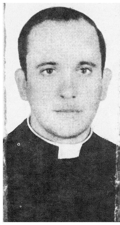 Jorge Bergoglio as a young priest. (Photo courtesy of Sergio Rubín and Francesca Ambrogetti.)